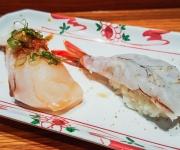 Butterfish and Blue Shrimp - Sushi SAM's EDOMATA