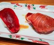 Wild Blue Fin Tuna and Wild Yellowfin - Sushi SAM's EDOMATA