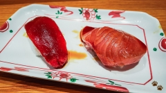 Wild Blue Fin Tuna and Wild Yellowfin - Sushi SAM's EDOMATA