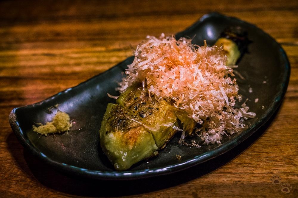Nasu (Japanese Eggplant) Yasai Gushi - Ippuku, Berkeley, CA