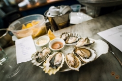 Oyster Tasting - The Walrus and The Carpenter, Seattle, Washington