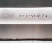 The Centurion SIgn @ The AMEX Centurion Lounge DFW