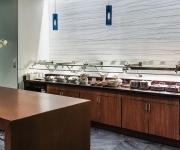 Food service @ The AMEX Centurion Lounge DFW