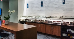 Food service @ The AMEX Centurion Lounge DFW