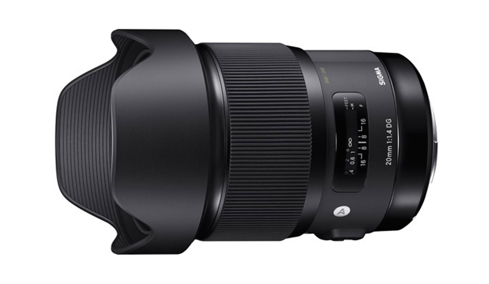 Sigma 20mm F1.4 DG HSM Art Lens
